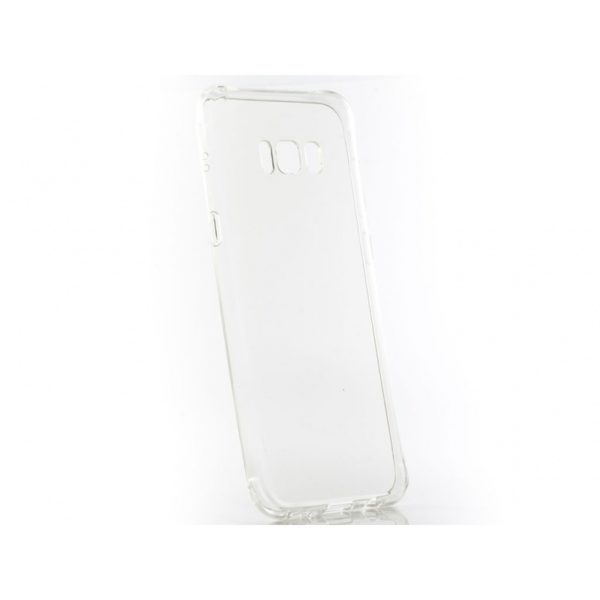 Funda Silicona Degradada Samsung S8 Plus Blanca