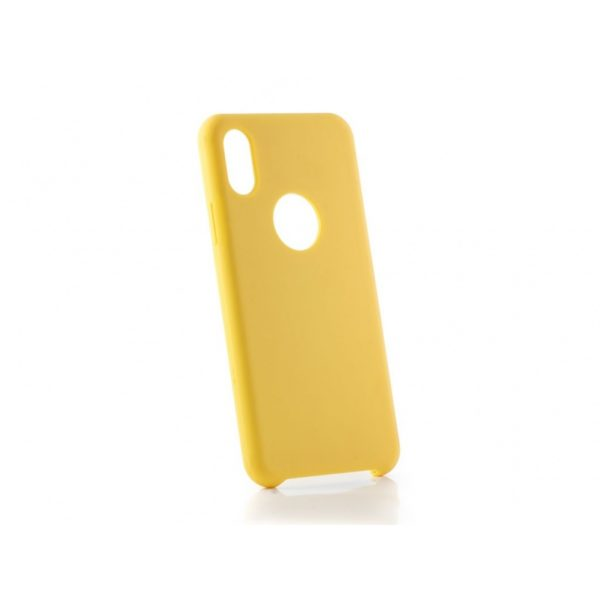Funda original Iphone X Amarilla
