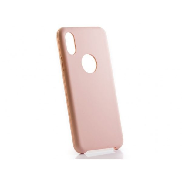 Funda silicona gel Iphone X Nude