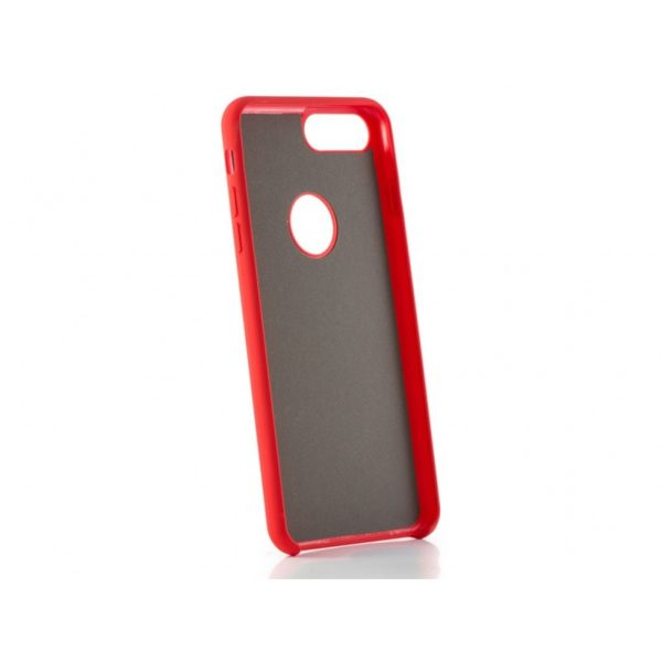 Funda silicona gel Iphone 8 Plus Roja