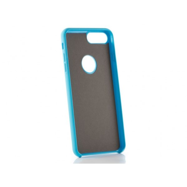 Funda silicona gel Iphone 8 Plus Azul