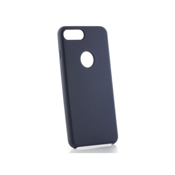 Funda silicona gel Iphone 8 Plus Azul Marino