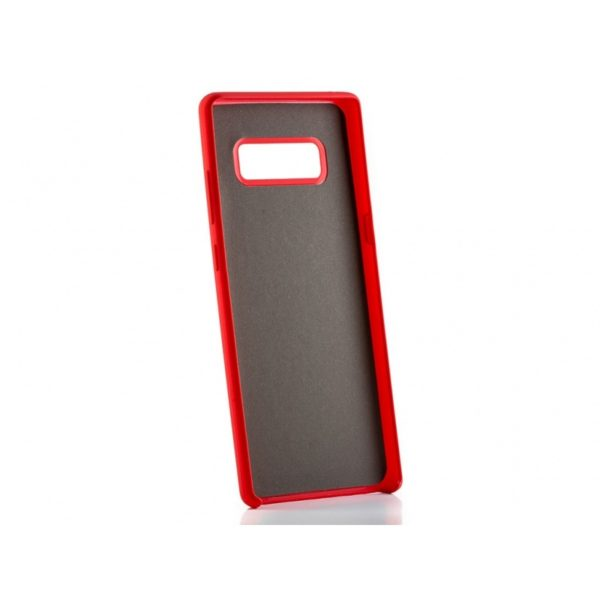 Funda silicona gel Samsung Note 8 Plus Roja