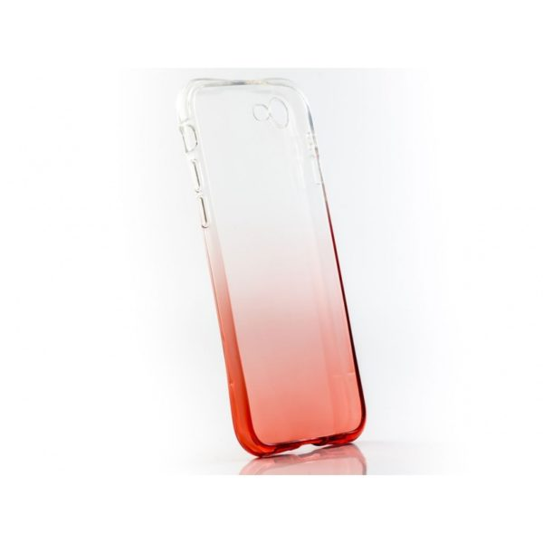 Funda Silicona Degradada IPHONE 7/8 Naranja