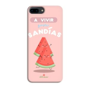 Funda A vivir que son sandías para Iphone 7/8 Plus